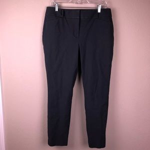LOFT Julie Skinny Blue Dress Pants Slacks 10